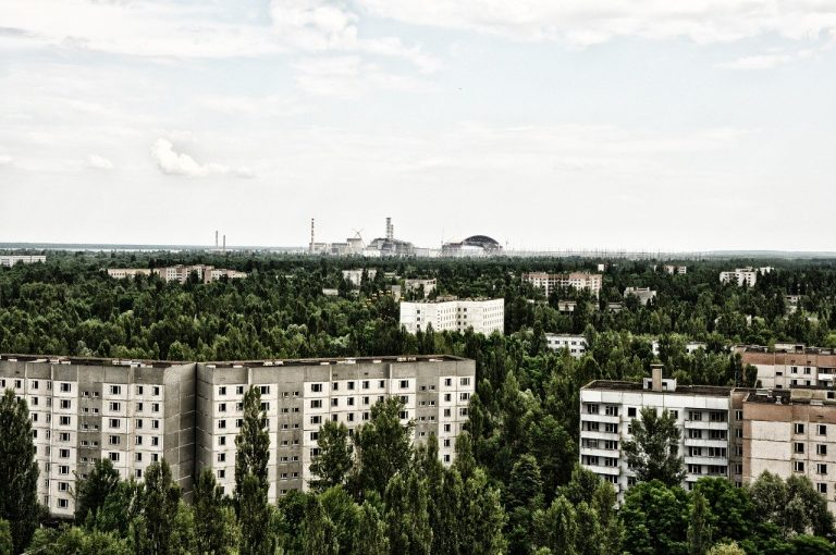 Chernobyl la natura